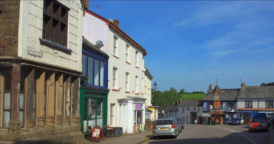 Contact North Tawton Website, The Square, North Tawton EX20 2EP