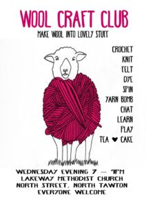 Clubs and Groups - North Tawton Wool Craft Club Yarn Bomb Crochet Knit