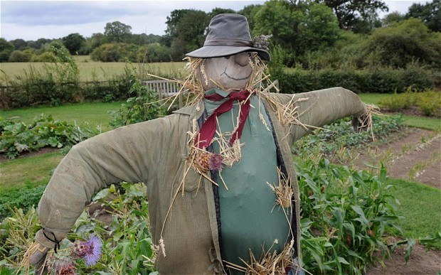 Nanny Knights Revel 2015 Scarecrow Competition