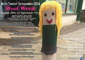 Wool Week North Tawton Yarnageddon 2016