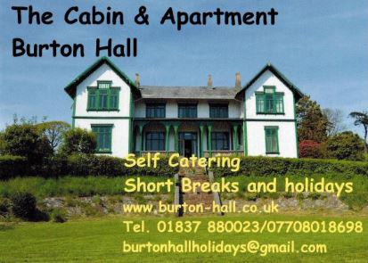 Burton Hall Old Norse Lodge Self Catering Accommodation North Tawton Website
