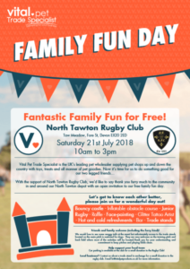 North Tawton Family Fun Day VITAL Rugby Club