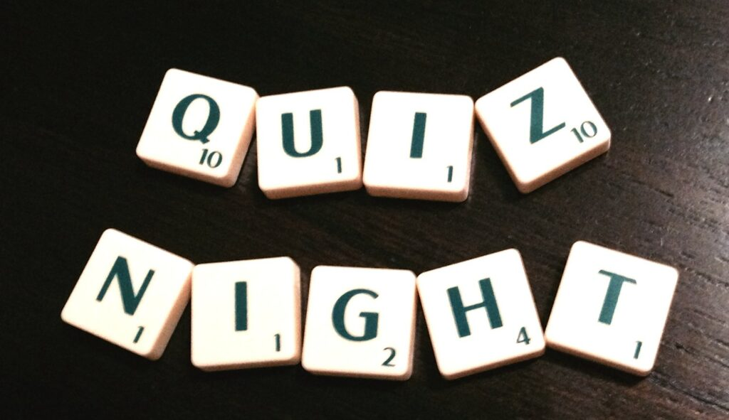 North Tawton Twinning Association Quiz Night
