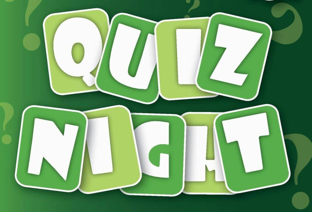 Friends of North Tawton Surgery Quiz Night