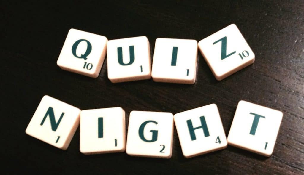 North Tawton Lakeway Church Quiz Night