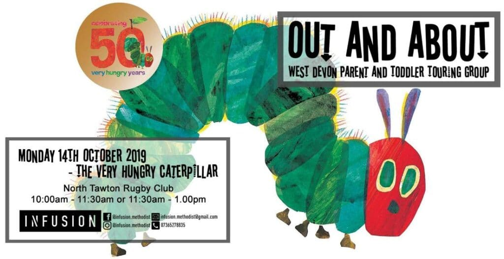 The Very Hungry Caterpillar at North Tawton Rugby Club