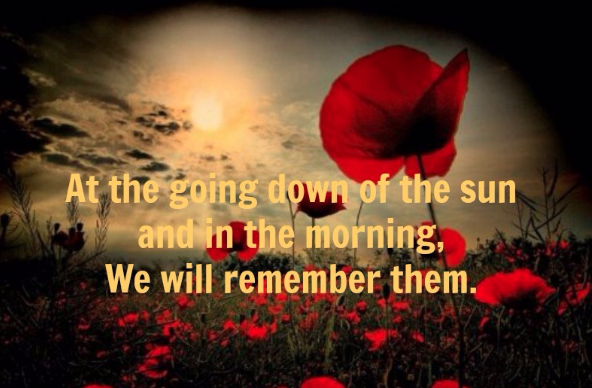 Remembrance Sunday For The Fallen