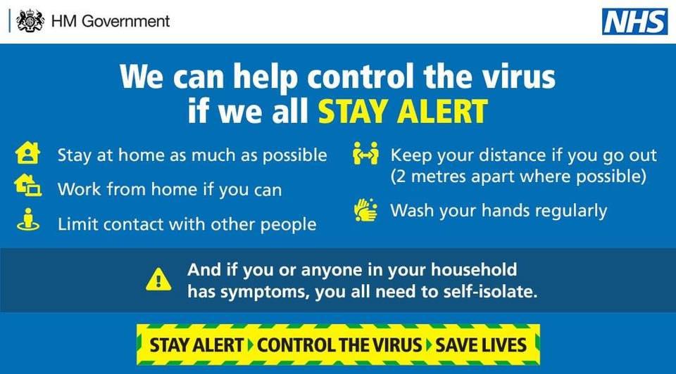 Stay Alert NHS