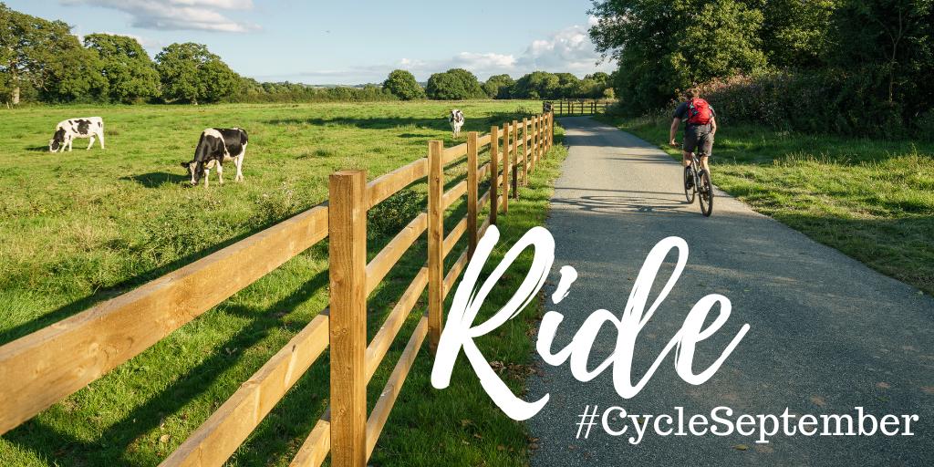 Cycle September North Tawton
