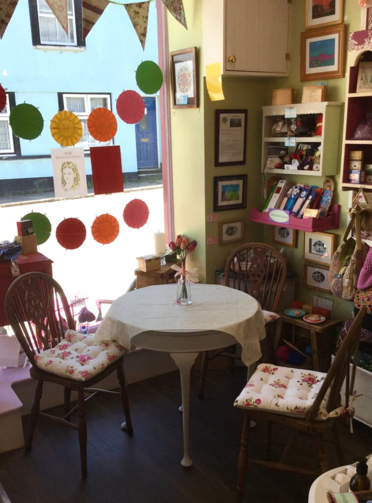 The Pistachio Tree Gift & Craft Shop In North Tawton Town